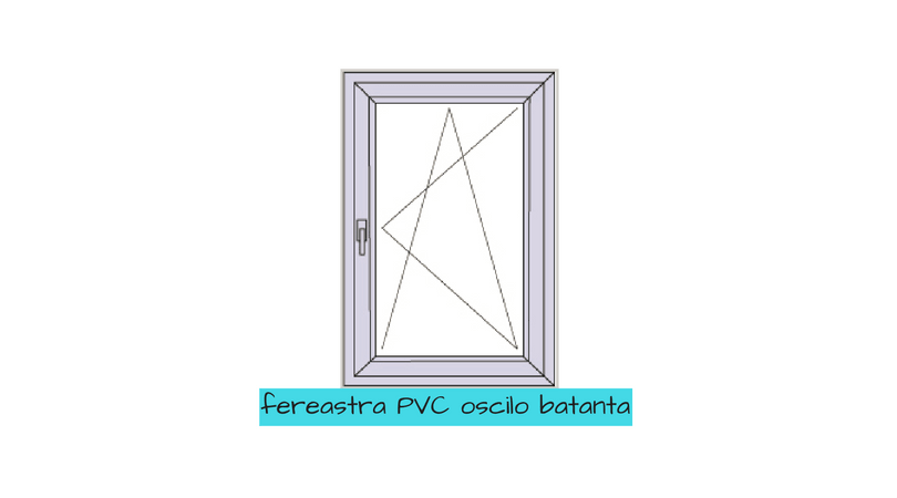 FEREASTRE PVC oscilobatanta