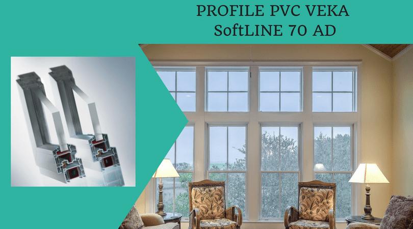 Profil PVC VEKA SoftLINE 70