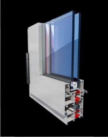 Profil aluminiu Balkan Regal Thermo 262