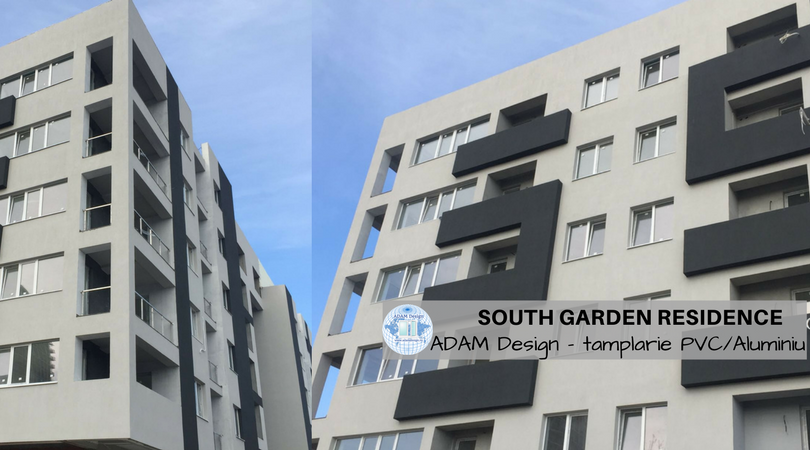 South Garden Residence - TAMPLARIE PVC ADAM Design