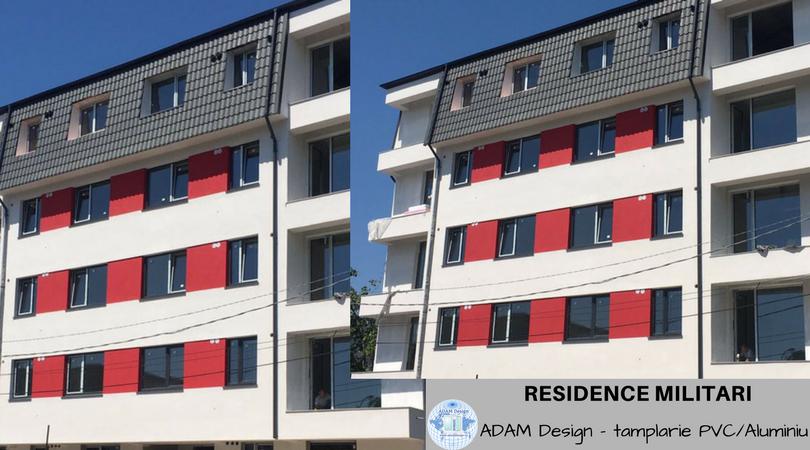 Residence Militari - Tamplarie PVC Adam Design