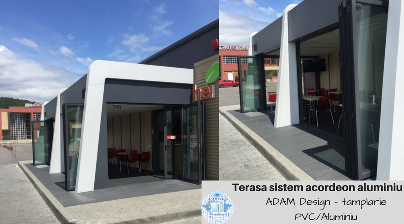 Terasa profile aluminiu - ADAM Design