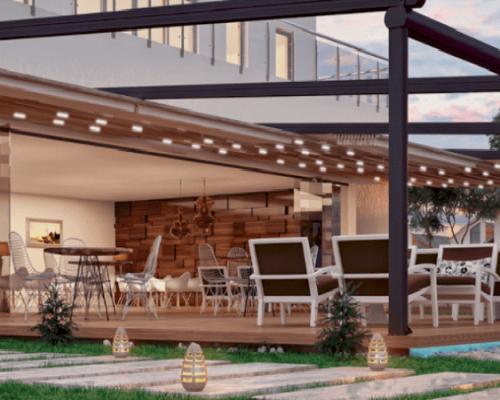 Sisteme retractabile aluminiu: pergole, sisteme inchidere terase, inchidere balcon sistem armonic
