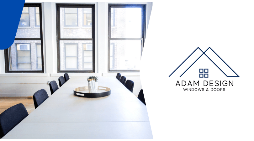 Adam Design office windows